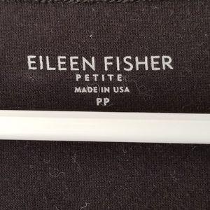 EILEEN FISHER BLACK COTTON DRESS